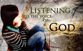 I Hear God's Voice ~ CHRISTian poetry by deborahann ~Photo Creation Swap