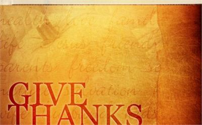 Give Thanks by Matt Gruber free photo #6710