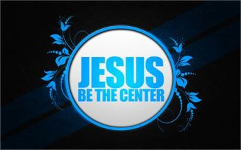 Jesus be the Center by Radikai Arts free photo #12834
