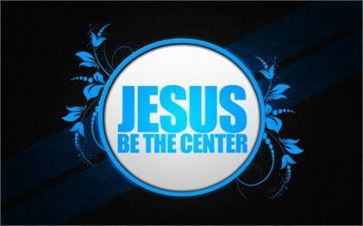 Jesus be the Center by Radikai Arts free photo #12834
