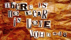 There is no fear in love – freephoto