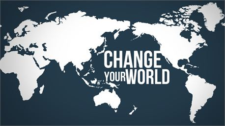 Change your WOrld by Jonathan Ashcraft free photo #17166