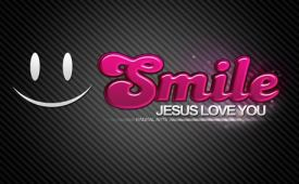 Smile Jesus Love You by Jomayra Solo free photo #7668