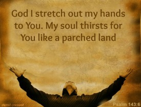 Thirsty ~ CHRISTian poetry by deborah ann