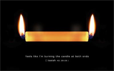 Burning Both Ends  by Mark Robinson free photo #3964