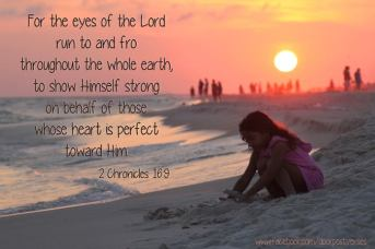 His Eyes Are Everywhere ~ CHRISTian poetry by deborah ann