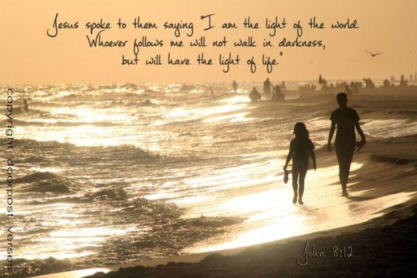 Walk in the Light ~ CHRISTian poetry by deborah ann ~ Photo Doorpost Verses