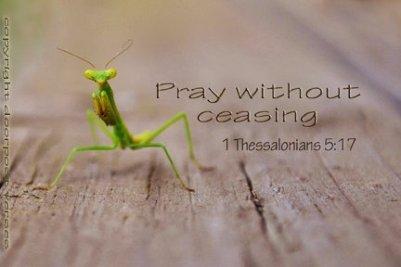 Pray Without Ceasing ~ CHRISTian poetryby deborah ann