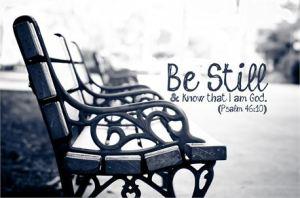 I Sit ~