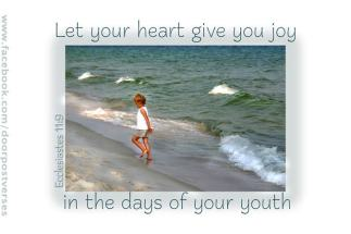 Let Your Heart Give You Joy used with permission Doorpost Verses on facebook