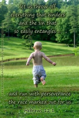 Grace for the Race ~ CHRISTian poetry by deborah ann - photo doorpost verses