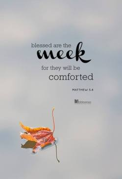 Blessed are The Meek used with permission IBible Verses