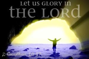 Glory To My Lord ~ CHRISTIan poetry by deborah ann