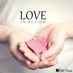 Love In Action used wth permision IBible verses