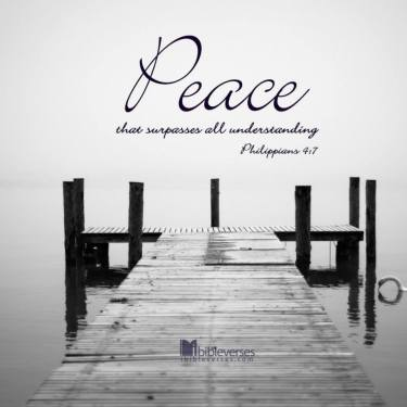 Peace that Surpasses used with permission IBible Verses on Facebook
