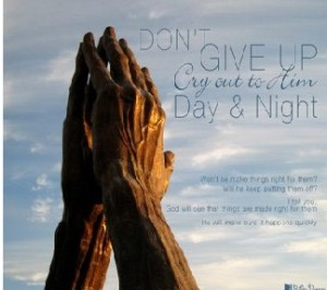 Don't Give Up used with permission IBible Verses