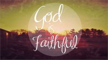 God is Faithfull  by Nathan Vanhorn CreationSwap