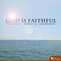 God is Fatihfull used with permission IBible Verses