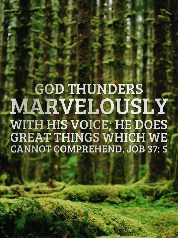 The Majestic Voice of God ~   CHRISTian poetry ~ by ...