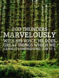 God Thunders used with Permission IBible Verses