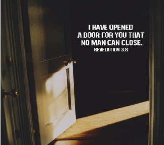 I have Opend the Door used with permissoin IBible Verses