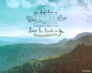 In Perfect Peace ~ CHRISTian poetry by deborah ann