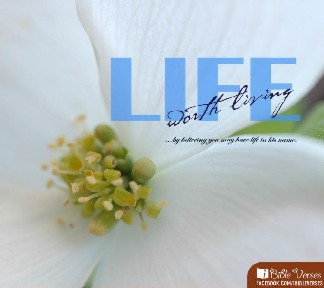 Life Worth Living used with permission IBible Verses
