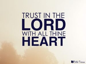 Trust the Lord with all Your Heart ~ CHRISTian poetry by deborah ann