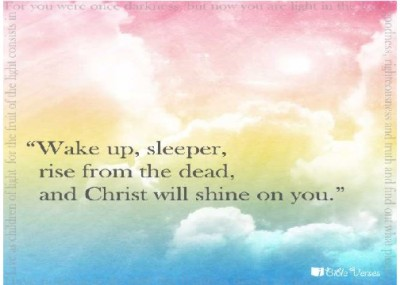 Wake Up used with permission IBible Verses