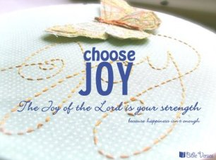 Choose Joy used with permission IBible Verses