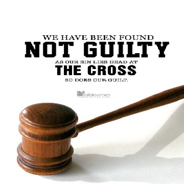 No Longer Guilty ~ CHRISTian poetry by deborah ann