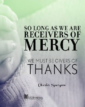 Be Givers of Thanks used with permission IBible Verses