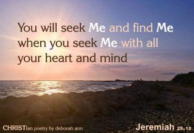 Jeremiah 29 13 Kjv
