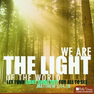 wearelight used with permission IBible Verses