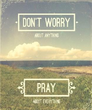 dont-worry CHRISTian poetry by deborah ann
