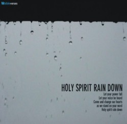 Rain Down On Us Lord ~ CHRISTian poetry by deborah ann