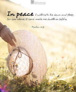 in-peace used with permission I Bible Verses