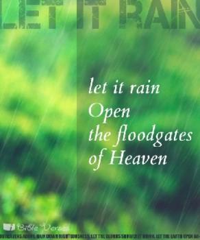 The Later Rain ~ CHRISTIan poetry by deborah ann