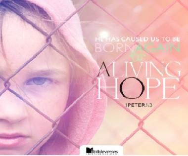 peter-living-hope CHRISTian poetry by deborah ann
