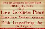 Recipe For A Happy New Year~ CHRISTian poetry by deborah ann free to use