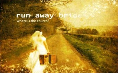Run away Bride used with permission Creation Swap