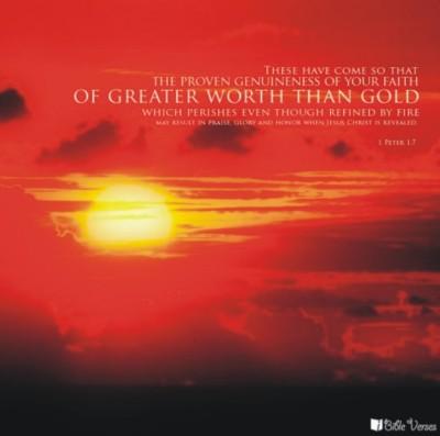 worthgold-CHRISTian poetry by deborah ann