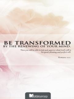 be-transformed CHRISTian poetry by deborah ann