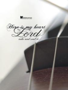 Here is My Heart ~ CHRISTian poetry by deborah ann