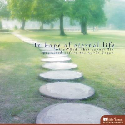 hopeeternal-CHRISTian poetry by deborah ann