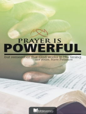 Prayer is Powerful ~ CHRISTian poetry by deborah ann
