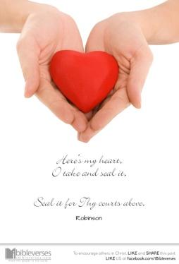 Take My Heart ~ CHRISTian poetry by deborah ann