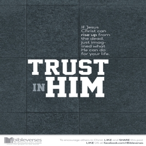 Trust Jesus ~ CHRISTian poetry by deborah ann