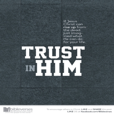 Trust Jesus ~ CHRISTian poetry by deborah ann