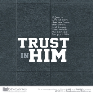 I Trust ~ CHRISTian poetry by deborah ann